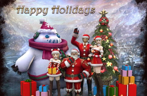 Lineage 2 Christmas Event
