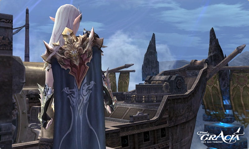 Lineage2 Cloaks update on Lineage 2 Gracia Final private server