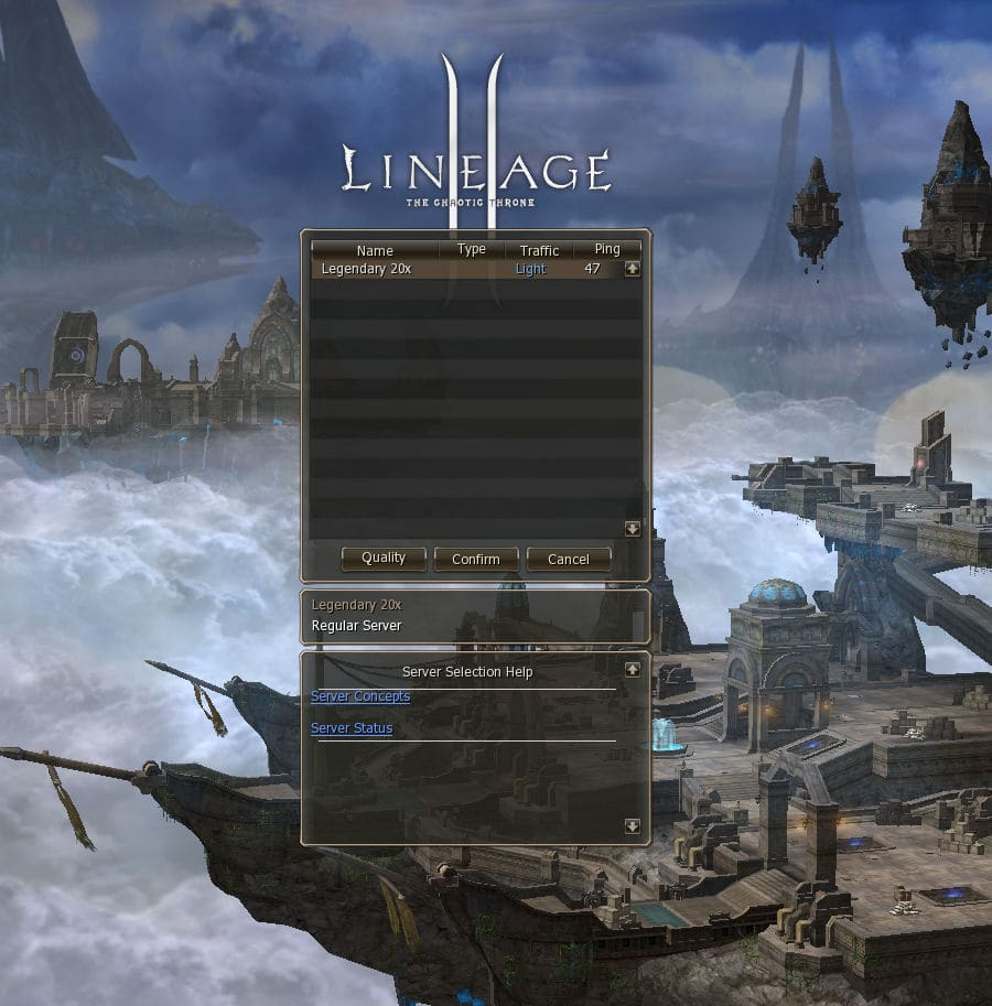 Download lineage 2 chaotic throne: gracia final clientfor free.