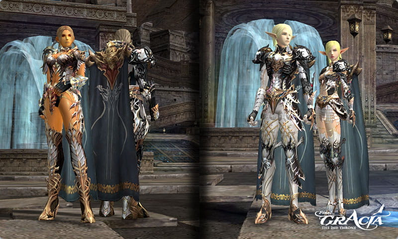 Lineage2 Vesper Armors update on Lineage 2 Gracia Final private server